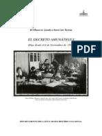 Decreto Amunátegui