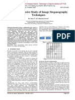 A Comprehensive Study of Image Steganography Techniques