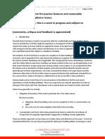 passive featuresmeans of escape compliance discussuion paper nov 2017