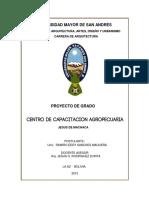 Memoria Centro de Capacitacion Agropecuaria