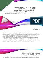 Arquitectura cliente servidor socket bsd.pptx