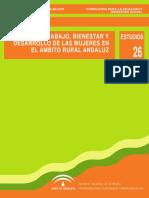 Trabalho, Bem Estar e Desenvolvimento Das Mulheres Em Ambito Rural