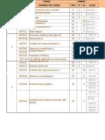 Grabado Plan de Estudios