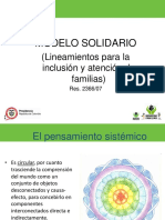 Enfoque Modelo Solidario