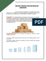 Tipos de Embalaje Más Comunes en Las Mercancías de Exportación