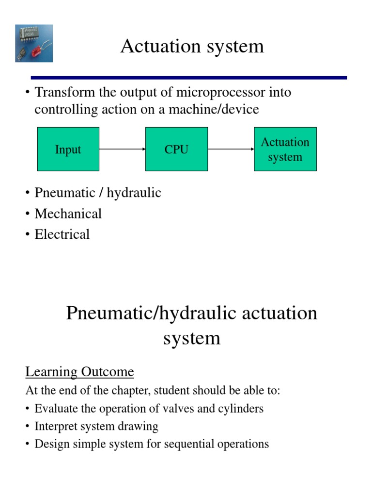 Chapter 5 Pneumatic and Hydraulic Actuation Systems   Valve