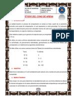 N°13 CONO DE ARENA