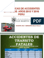 Estadisticas de Accidentes Peru