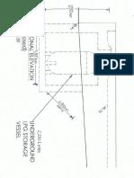 Dimensions for 2,250 Litres Bulk LPG Vessel
