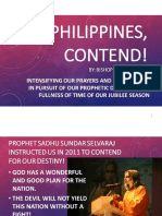 Philippines Contend - Bishop Dan