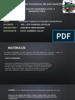 Materiales y Equipos , Trabajo 2