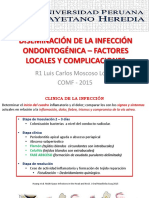 Diseminación de La Infección Ondontogénica – Factores Locales