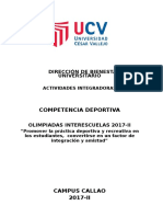 Bases Voley Mixto Callao 2017-II