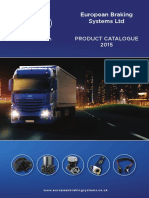 European Braking Systems Ltd - 2015 Product Catalogue - SECURED VERSION