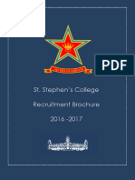Recruitment Brochure 2016-17