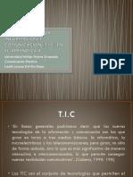 Tecnologias de La Informacion y Comunicación (t