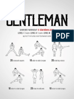Gentleman Workout
