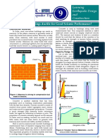 Buildings Ductile for Good Seismic Performance
