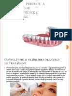 încărcarea  precoce  a     implanturilor. etape:ortopedice și chirurgicale.