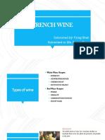 French Wine - Virag Shah