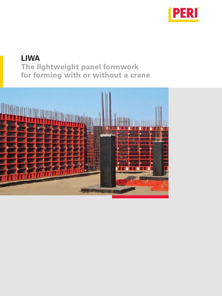 Formwork for Walls | Crane (Machine) | Scaffolding