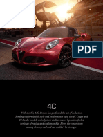 Alfa Romeo 4C Catalog