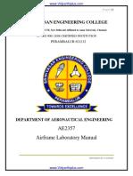 Ae2357 Afl Manual