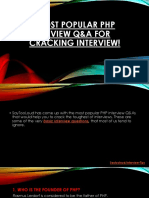 7 Most Popular PHP Interview Q&A for Cracking Interview