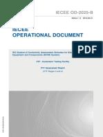 IECEE OD-2025-B-2016