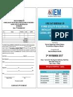 IEM 2Nov17 PQ Seminar Ir KT Lim