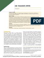 artritis reumatoide  extraarticular