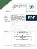 7.4.1.3 SOP Evaluasi Kesesuaian Layanan Klinis Dengan Rencana Terapi