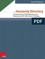 A Heavenly Directory Trinitarian Pie