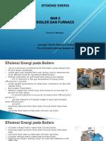 Bab 2 Boiler & Furnaces