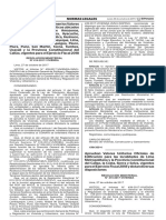 R.M. N° 415-2017-VIVIENDA - Valores Unitarios Oficiales de Edificación y de Instalaciones Fijas y Permanentes 2018