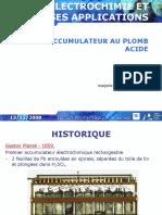 Accumulateurs Au Plomb - Acide