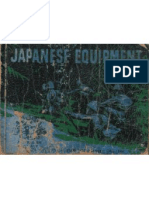 Japanese Equipment 2nd Edition Australian Military Forces May 1944