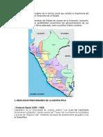 Peru y Su Geopolitica