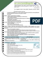 BIOGRAFIA - Ficha Informativa - Como Fazer...