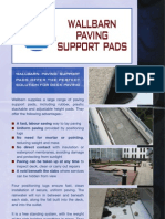 Wallbarn Paving Support