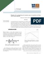 Diseño de un algoritmo de ajuste para un modelo Viscoelástico Generalizado de Maxwell