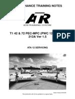 ATA 12 Servicing