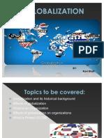 Globalization and its impact on organization