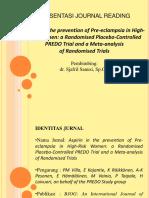 Aspirin in the prevention of Pre-eclampsia in High-Risk Women