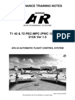 ATA 22 Automatic Flight Control System