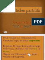 Les Articles Partitifs Au Jeu !