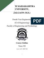 2015-16 BE Civil Engineering CGPA