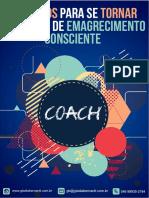 E-book – 4 Motivos Para Se Tornar Um Coach de Emagrecimento Consciente – Coach