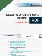 Indicadores Mtto. Ind. Febrero 2009.ppt
