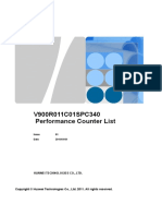 USNV900R011C01SPC340 Performance Counter List